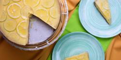 Cukormentes citromkrémes pite