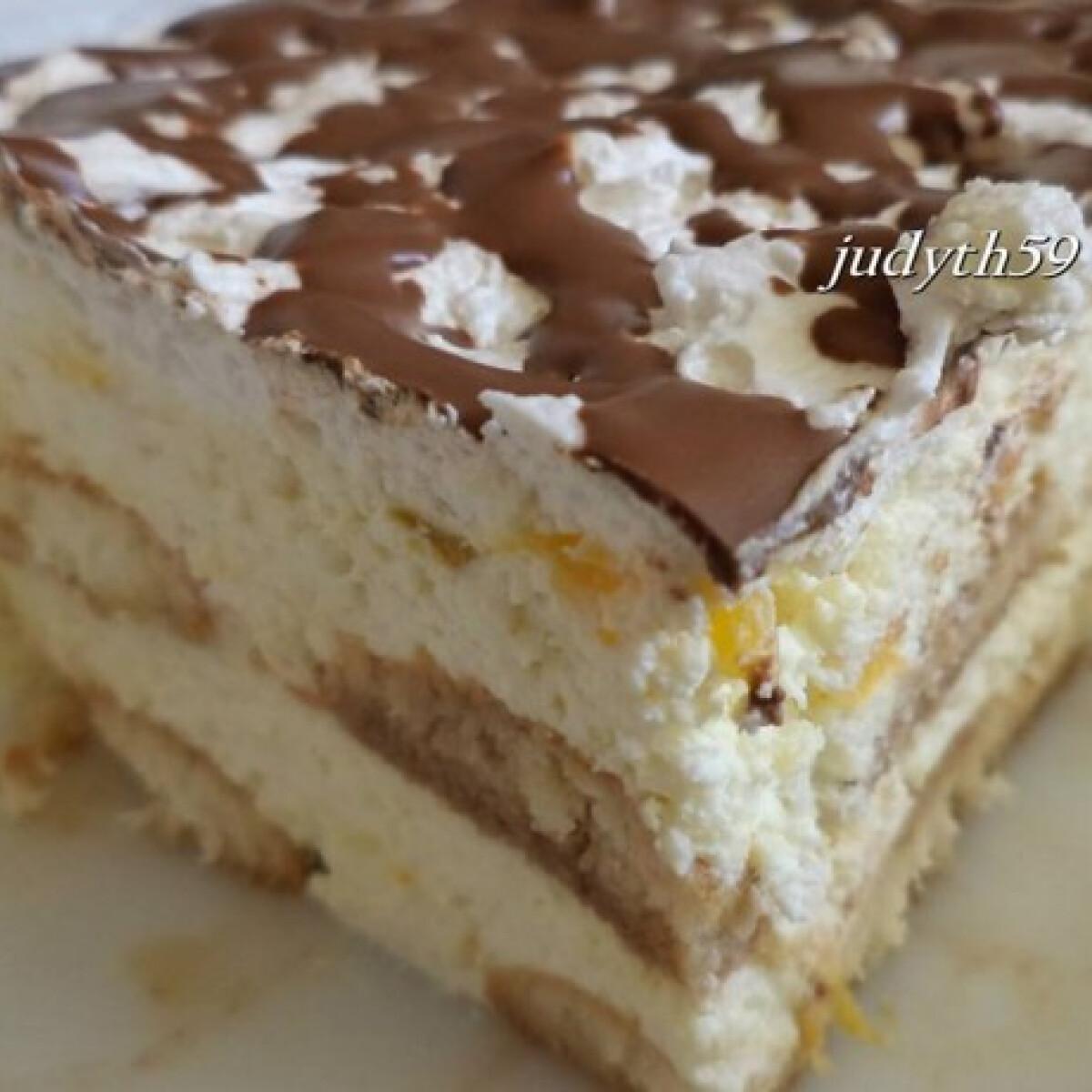 Ezen a képen: Habkönnyű gazdag desszert sütés nélkül