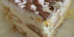 Habkönnyű gazdag desszert sütés nélkül