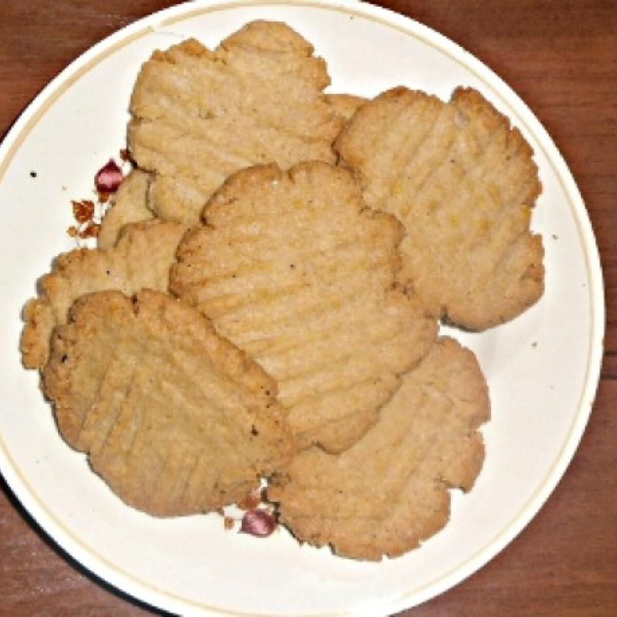 Ezen a képen: Kókuszos-zabpelyhes keksz Kisvikicától