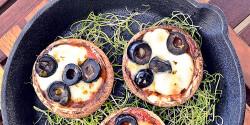 Portobello minipizzácskák