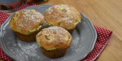 Gyors rebarbarás muffin