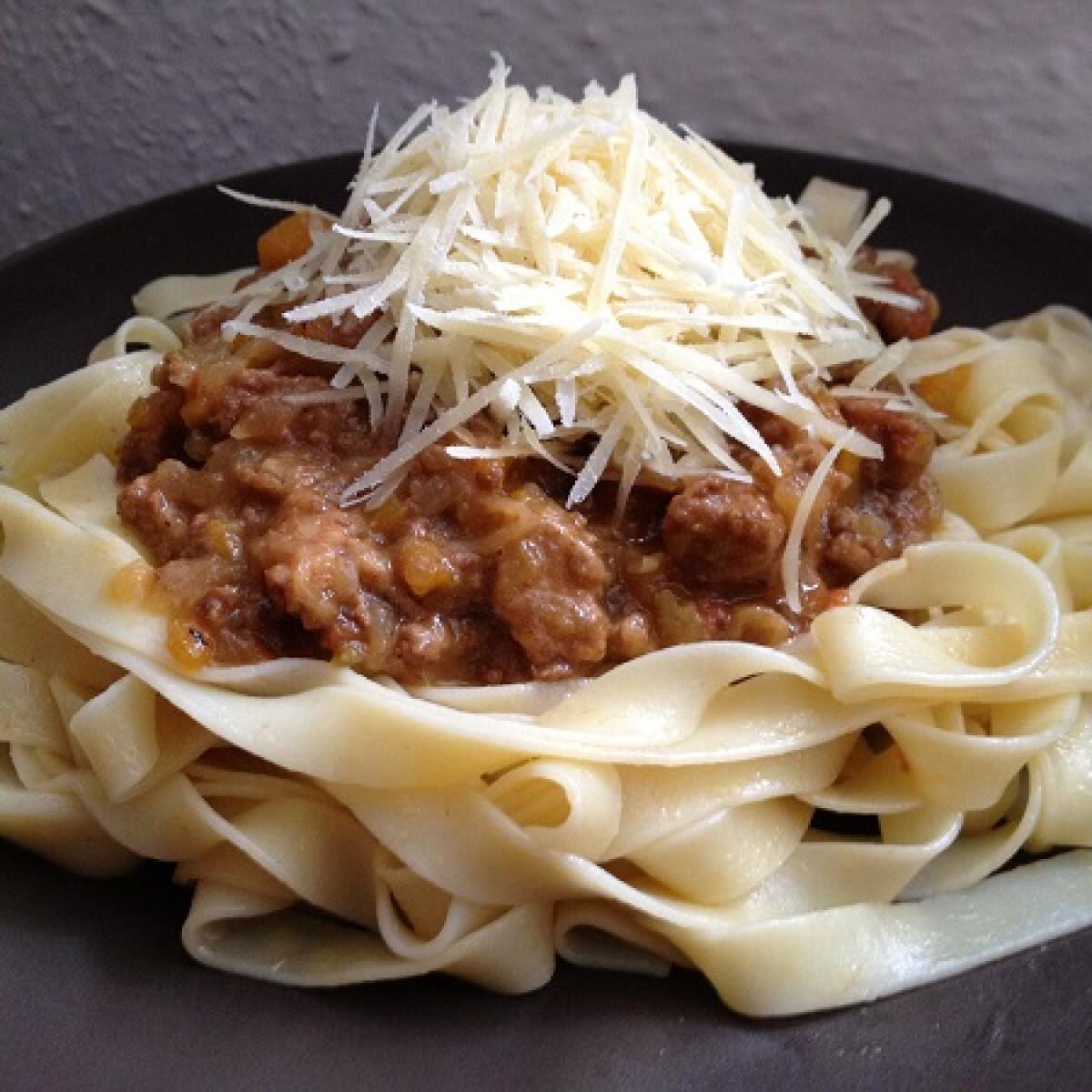 Ezen a képen: Bolognai spagetti Heston Blumenthal-tól