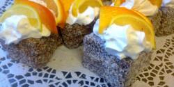 Datolyaszilvás-túrós csokis kókuszkocka