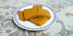 Sütőtökös kekszes szelet