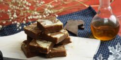 Egyszerű whiskys csokoládéfudge