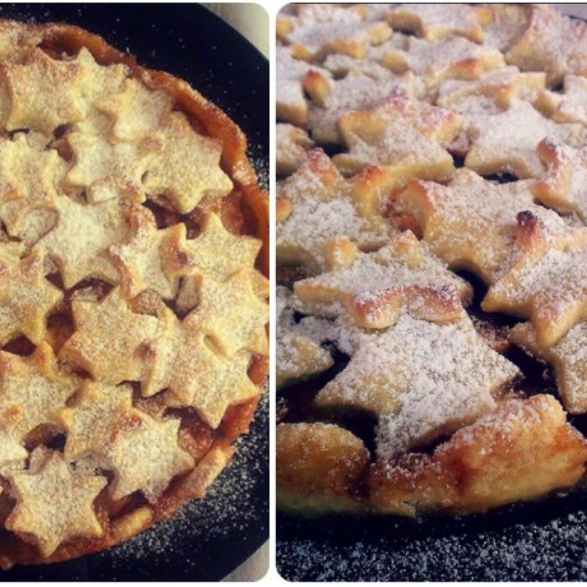 Ezen a képen: Fűszeres rumos almás pite