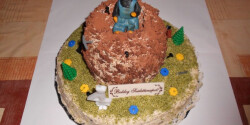 Kisvakondos emeletes torta