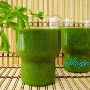Zöld zöldségturmix
