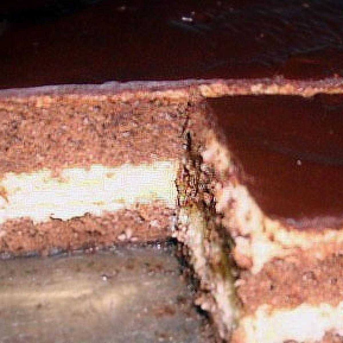 Ezen a képen: Kókuszkrémes süti