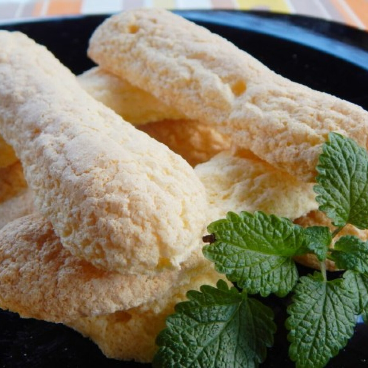 Ezen a képen: Babapiskóta rizslisztből gluténmentesen