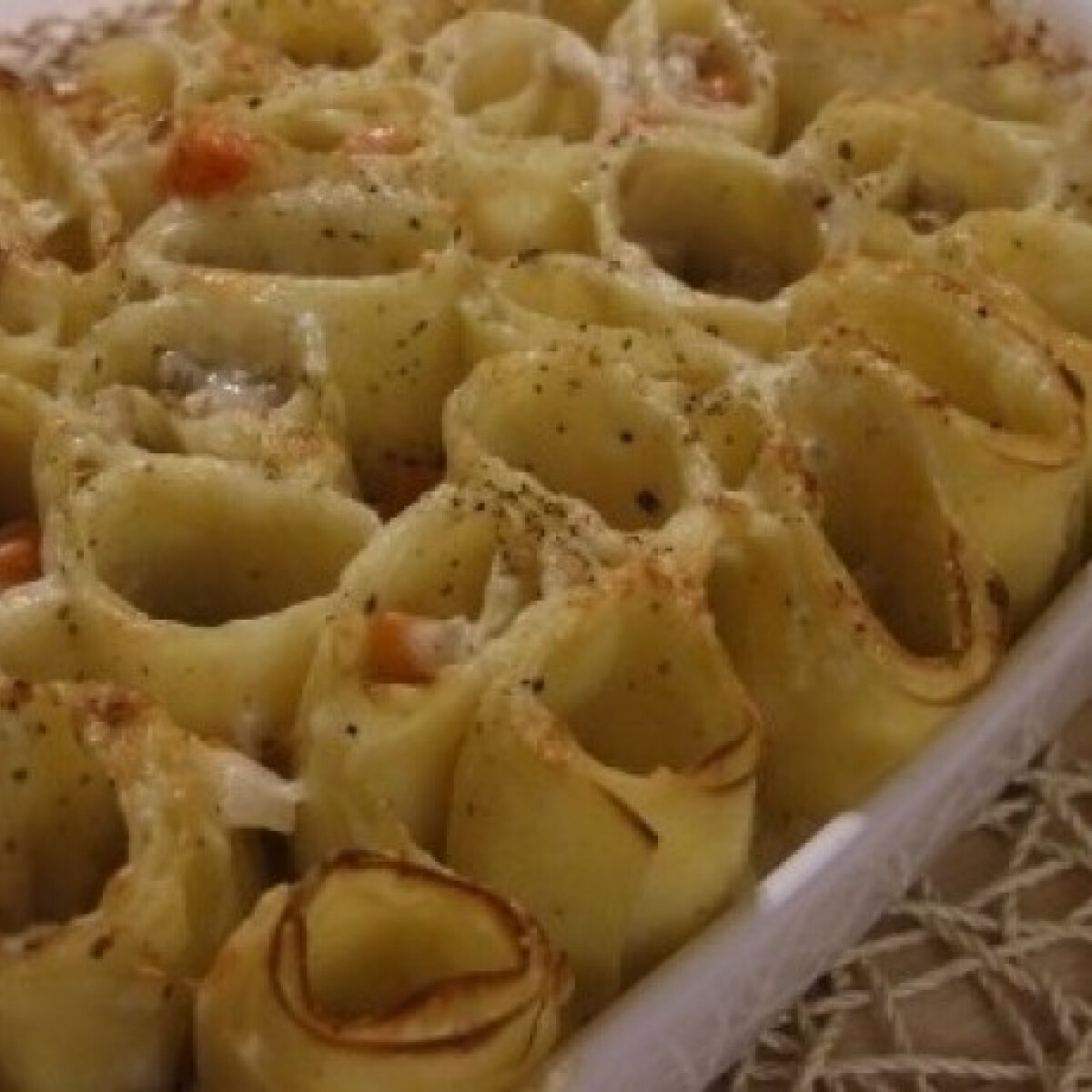 Csavaros lasagne