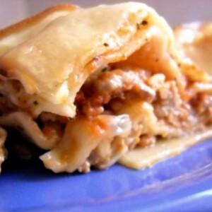 Diétás lasagne