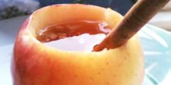 Almás-fahéjas tea rusztikus formában