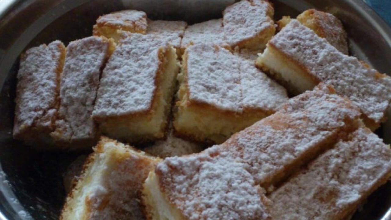 Túrós-vaníliás pite