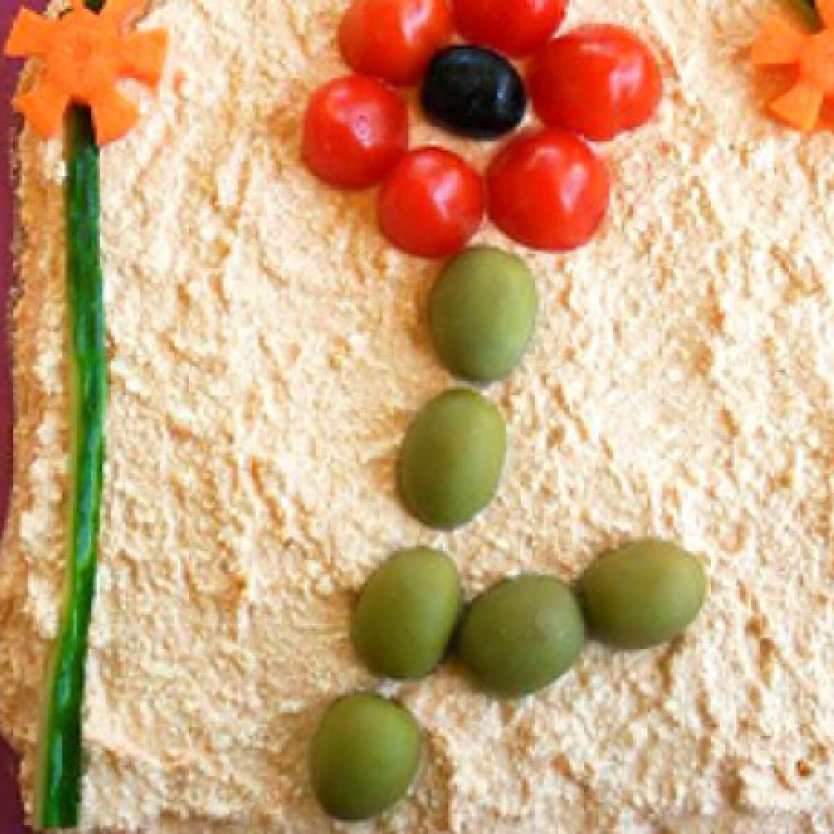 Ezen a képen: Körözött Salamon Csilla konyhájából