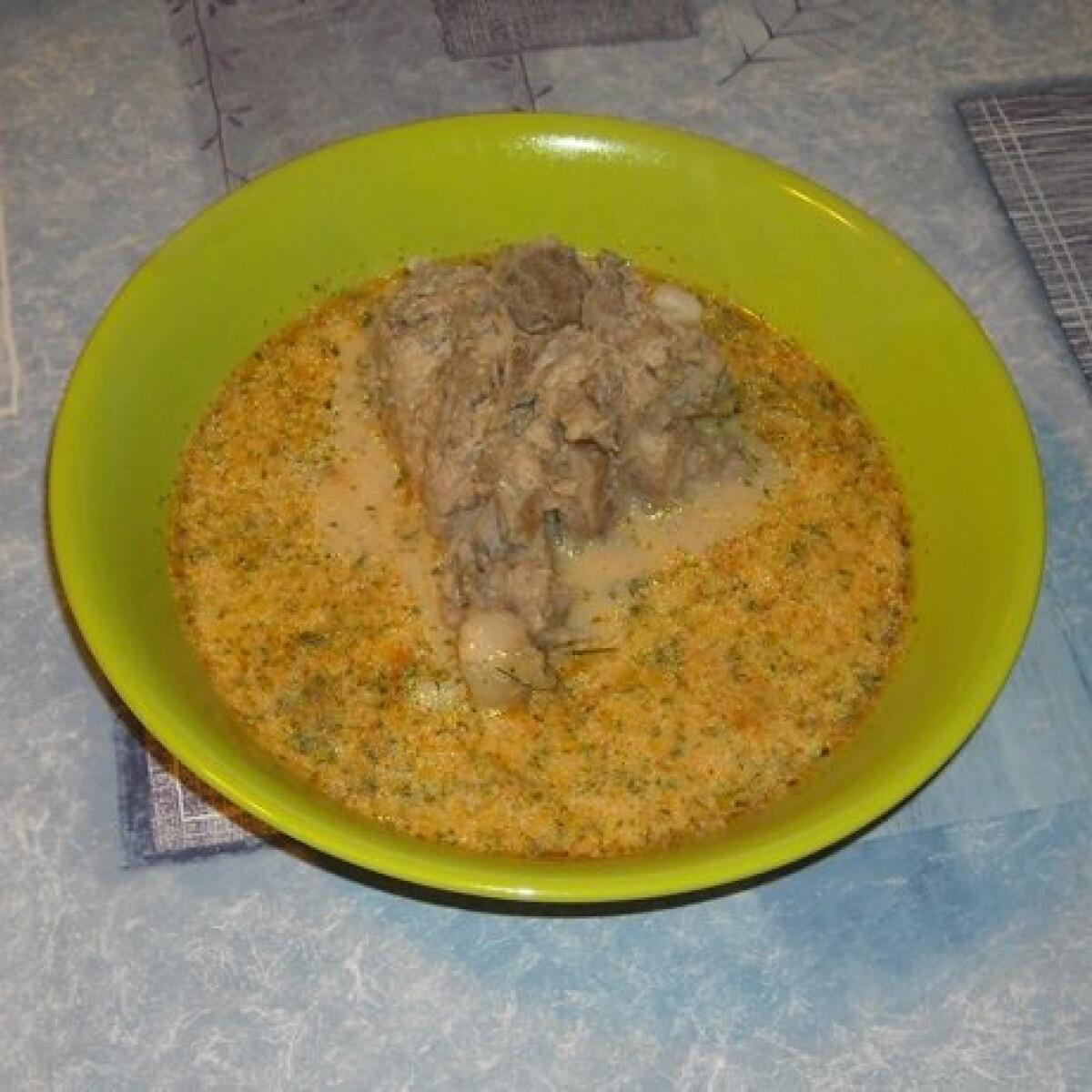 Ezen a képen: Kapros leves