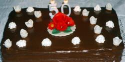 Mascarponés nutellás torta