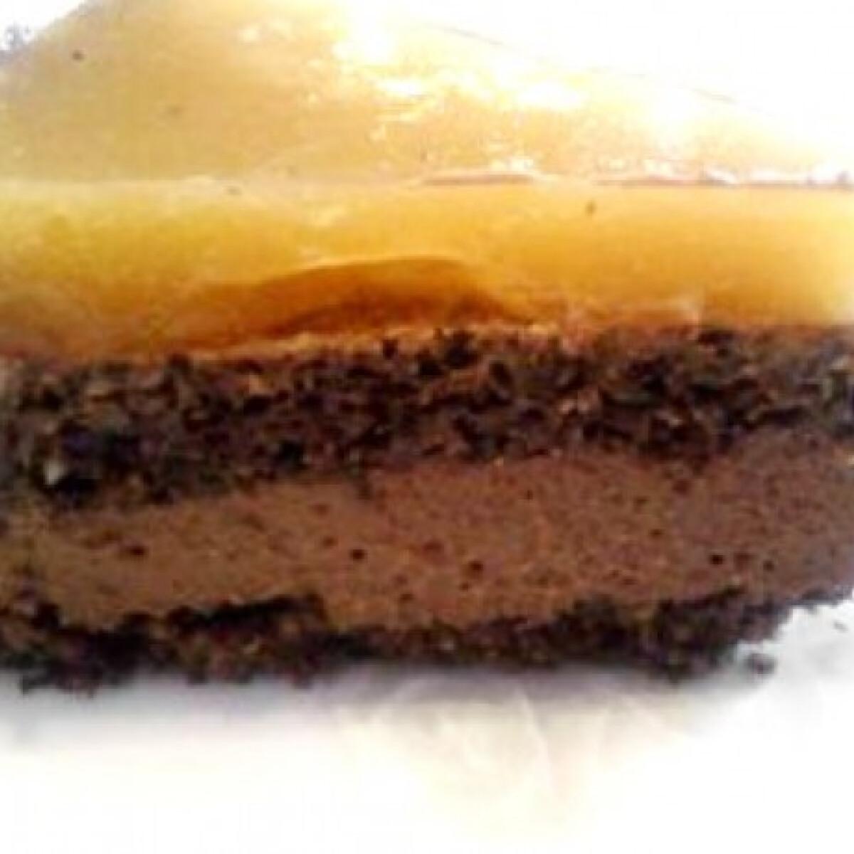 Narancsos-csokis paleo torta