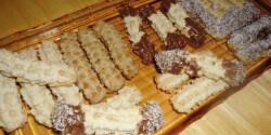 Burgonyás darálós keksz