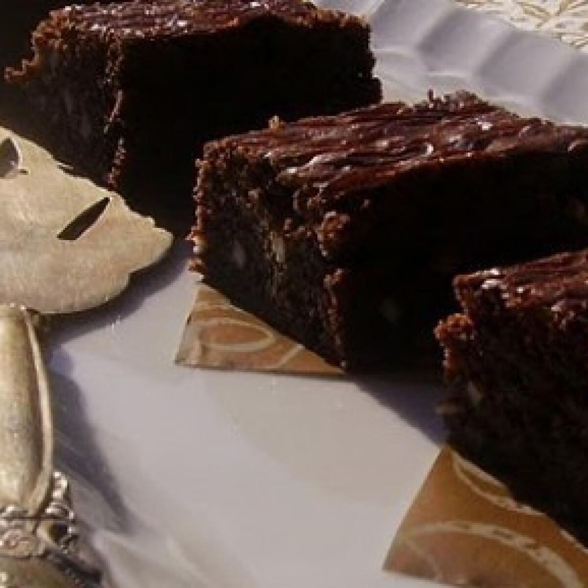 Brownie 8. - mandulás, vaníliás