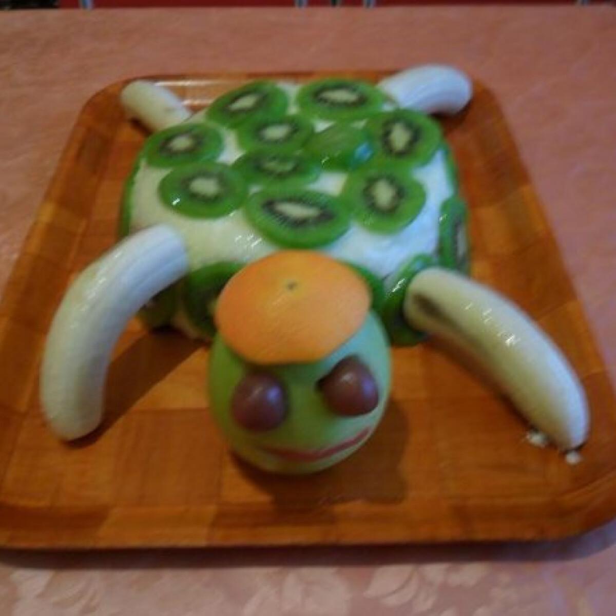 Ezen a képen: Teknős torta Csillától