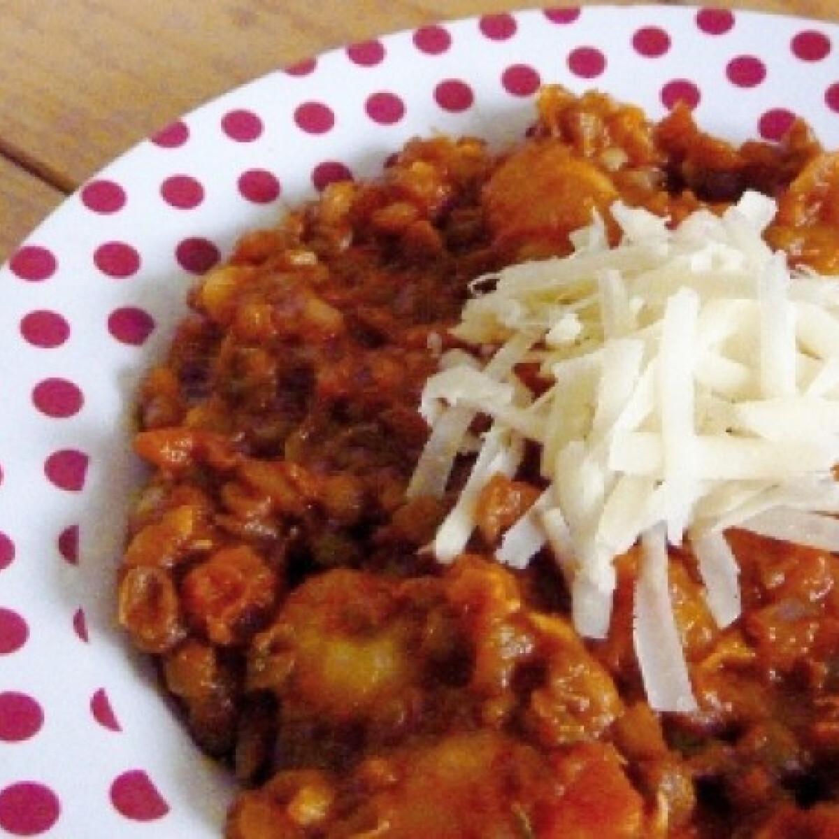 Ezen a képen: Umbriai lencsés gnocchi