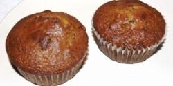 Diós-fügés-mézes muffin