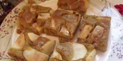 Mézes-körtés pite karamellöntettel