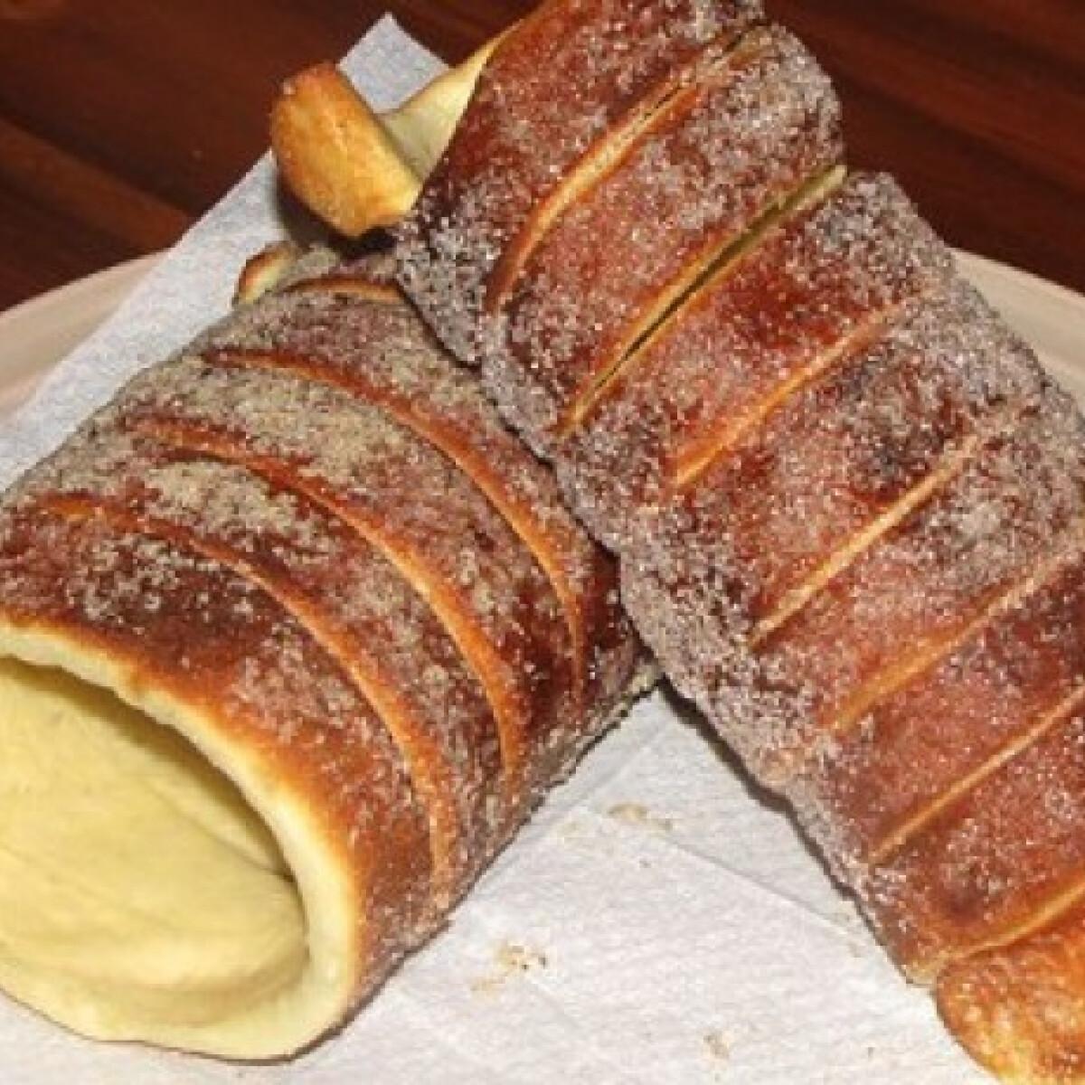 Ezen a képen: Kürtőskalács gilingalang konyhájából