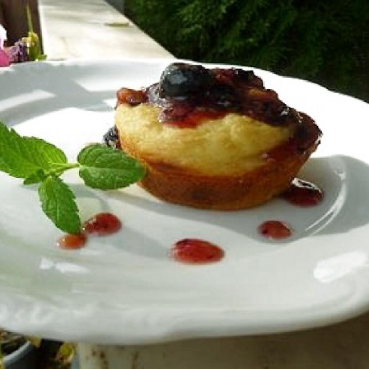 Ezen a képen: Amerikai palacsinta muffin