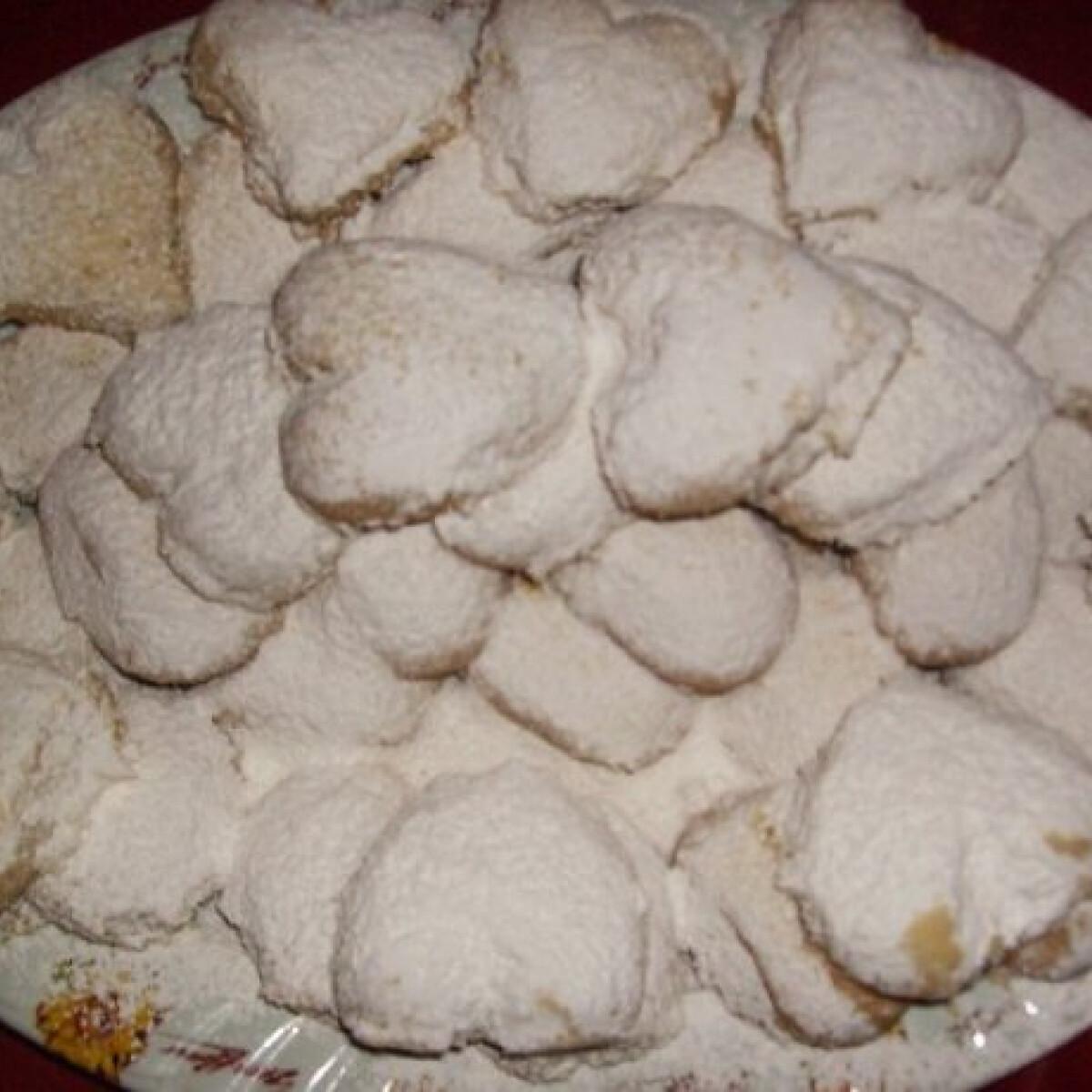Ezen a képen: Görög karácsonyi linzer - kurabjedesz