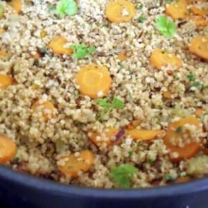 Quinoa piláf