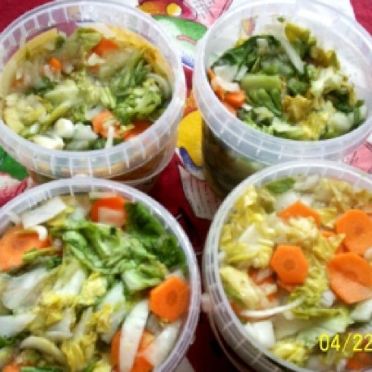 Ezen a képen: Saláta vegyesen