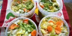 Saláta vegyesen