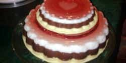 Emeletes gumisüti torta