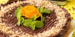 Mennyei nyers csokoládétorta