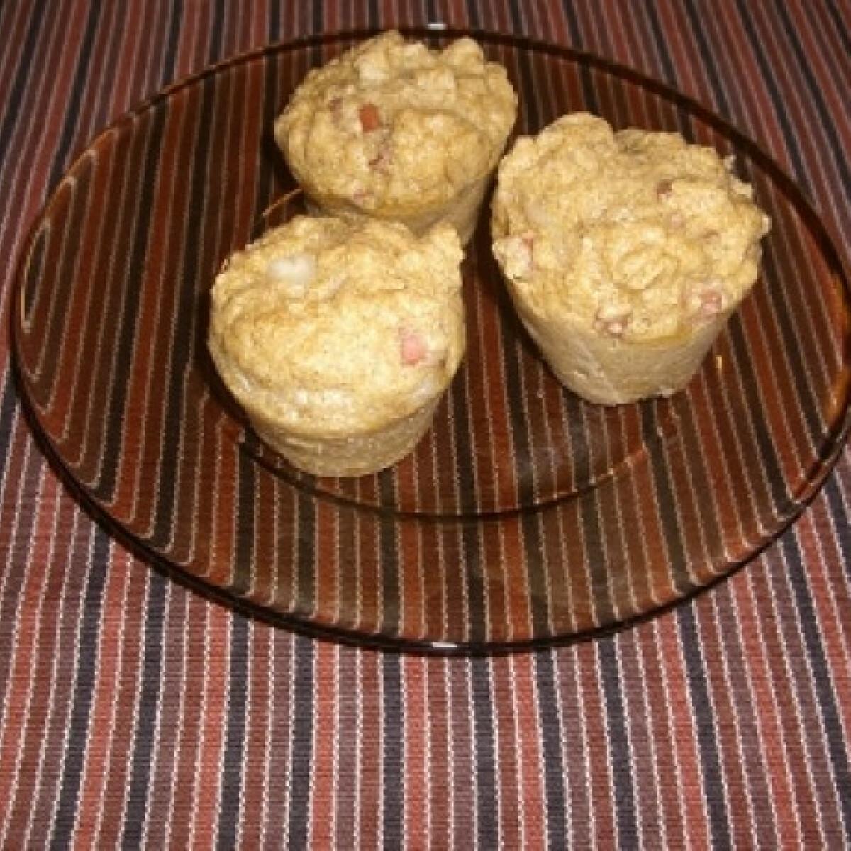 Ezen a képen: Reform sajtos-sonkás muffin