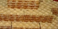 Karamellás-diós nápolyi szelet