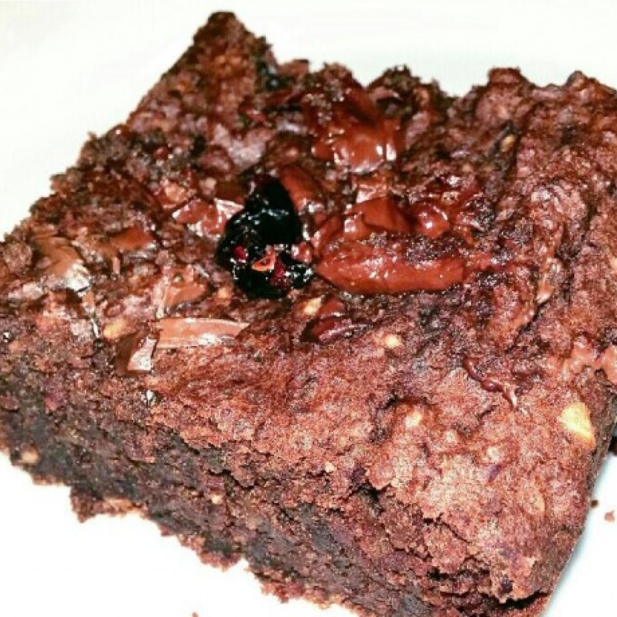 Ezen a képen: Gluténmentes brownie norgi konyhájából
