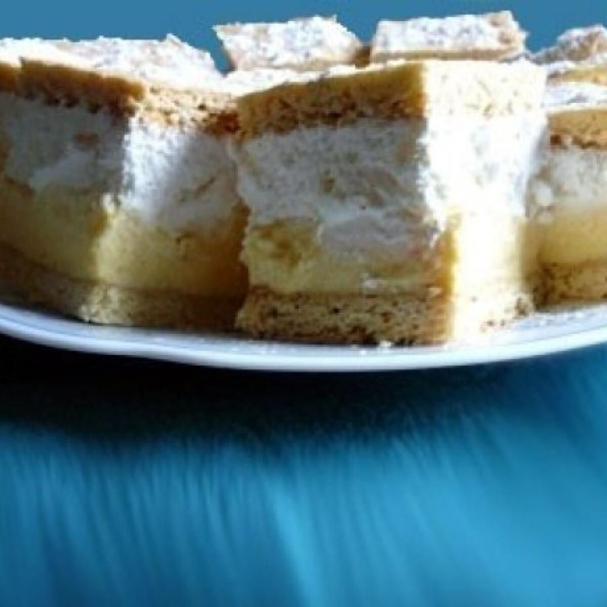 Ezen a képen: Pudingos-tejszínhabos krémes