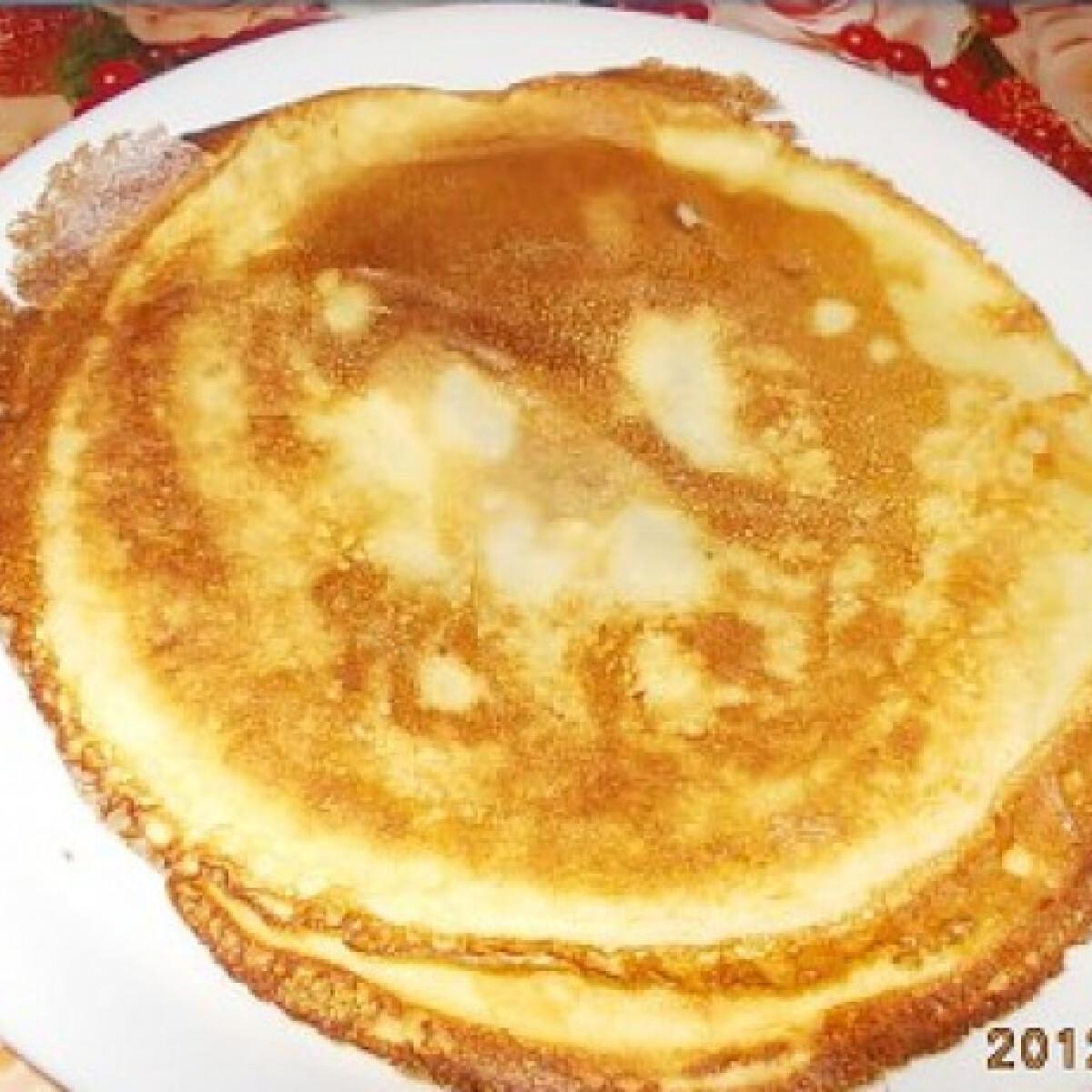 Ezen a képen: Amerikai palacsinta I.l.d.i.k.ó konyhájából