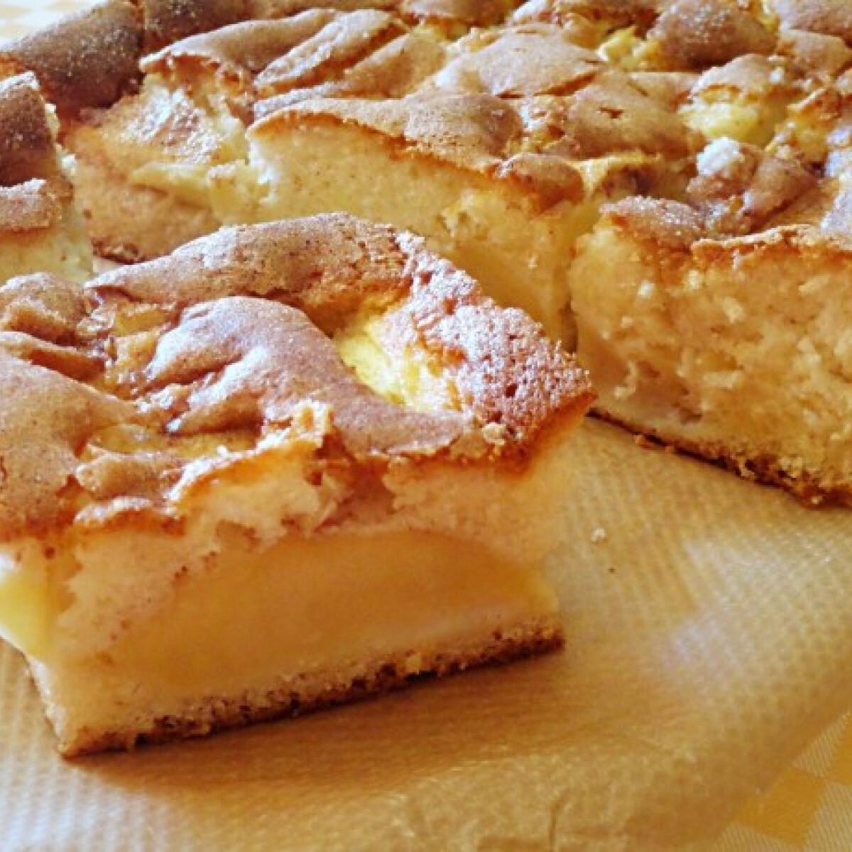 Ezen a képen: Olajos almás sütemény