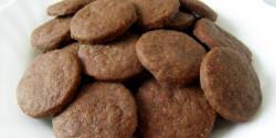Egyszerű csokis keksz