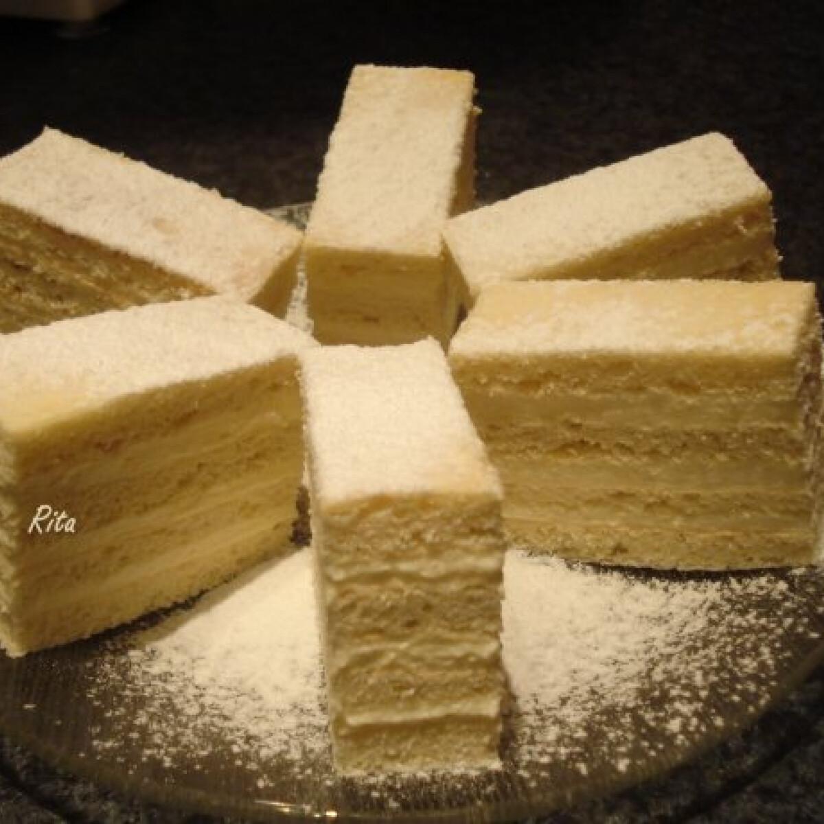 Ezen a képen: Hókocka - TraRita konyhájából