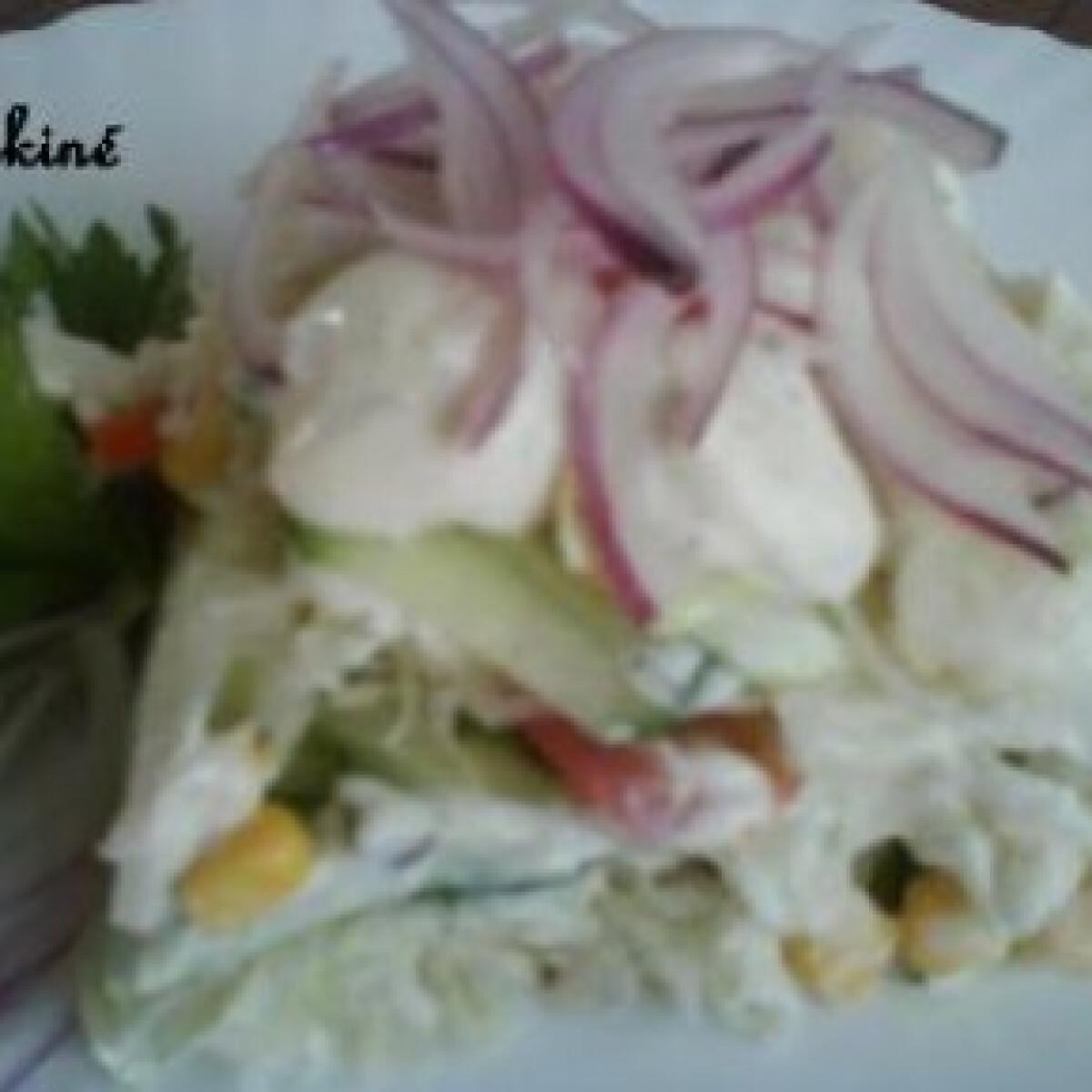 Ezen a képen: Könnyű saláta