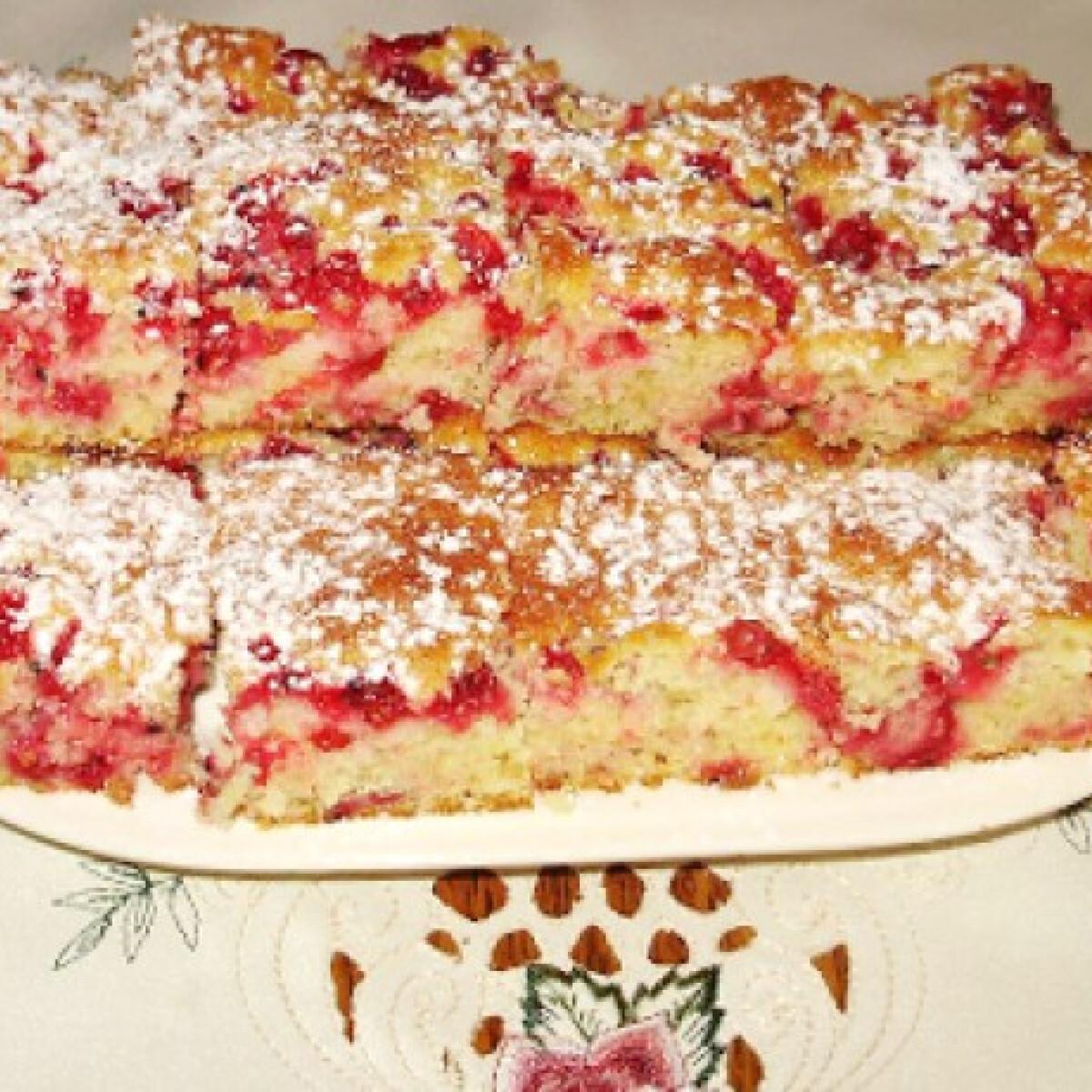 Ribizlis pite Boszitól
