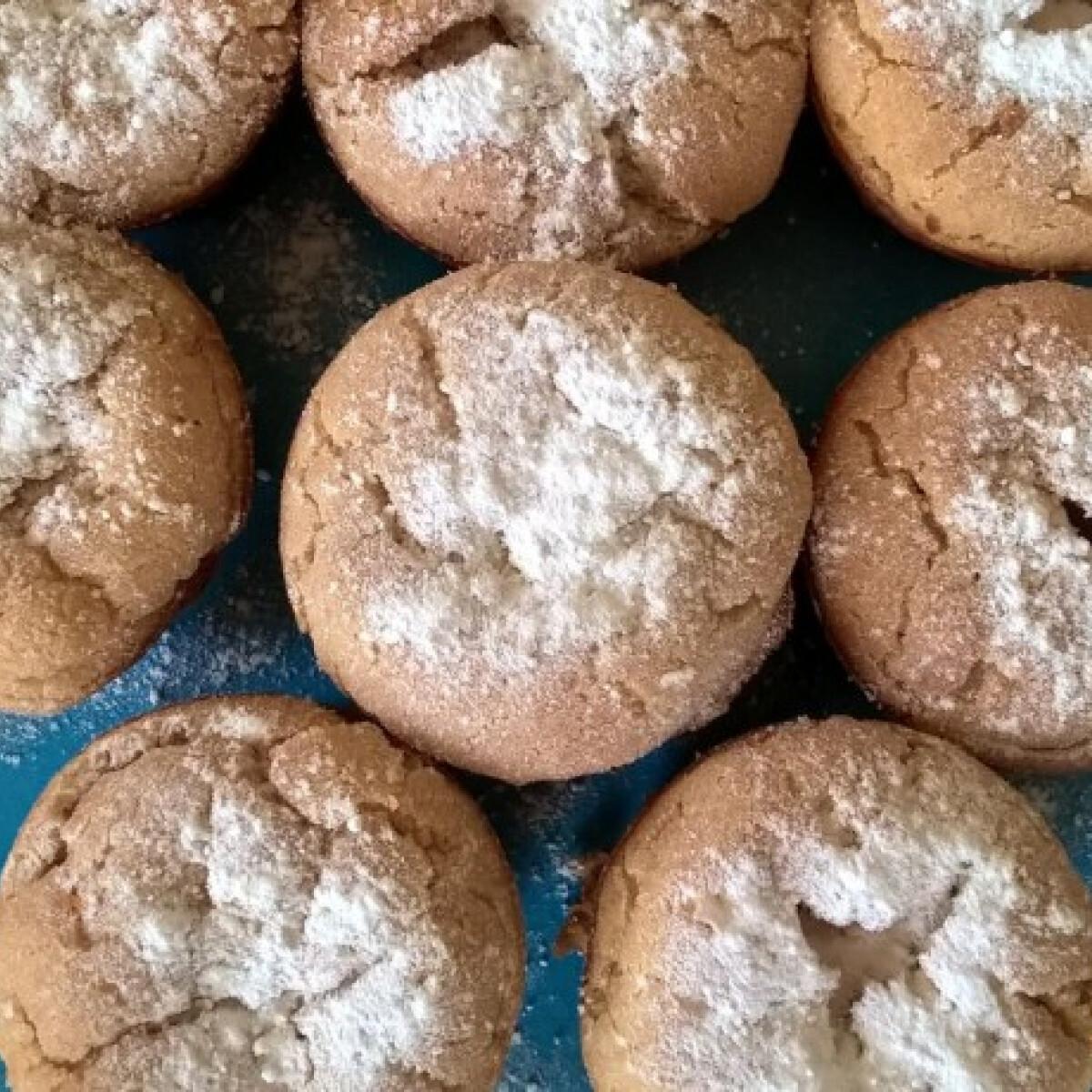 Ezen a képen: Sültalmás-muffin