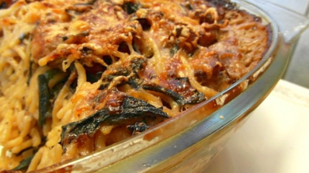 Spaghetti tetrazinni Jamie Olivertől