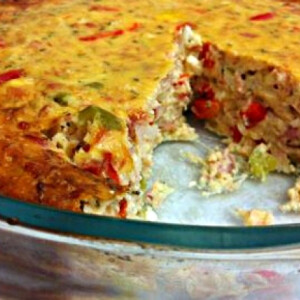 Tonhalas-feta sajtos pite